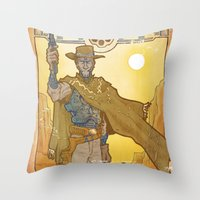 Frontier Legacy Throw Pillow