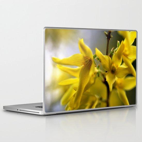 Golden Spring Laptop & iPad Skin