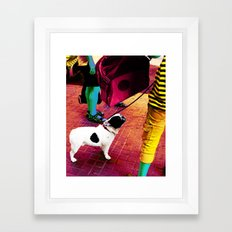 Weird Humans Framed Art Print