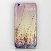 sea plants (purple) iPhone & iPod Skin