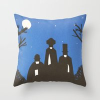 The Butchers Throw Pillow