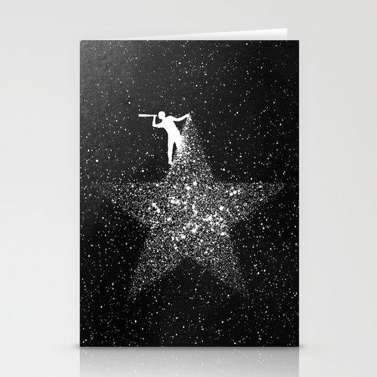 Stargazing Stationery Card