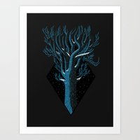 In Winter Art Print