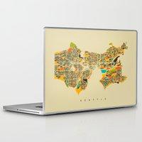 seattle Laptop & iPad Skins featuring Seattle by Nicksman