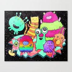 Intergalactic Dance Party Canvas Print