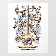 Game Grumps Art Print