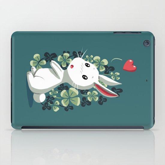 Clover Bunny iPad Case