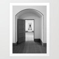 Through The Doors Art Print
