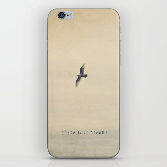 Chase Your Dreams iPhone & iPod Skin