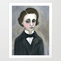 Lewis Carroll And The Ch… Art Print