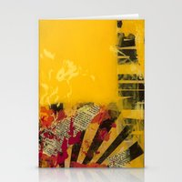 Yellow 2 Stationery Cards