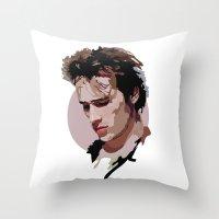 Jeff Buckley Throw Pillow
