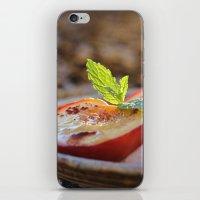 Cinnamon Baked Nectarines iPhone & iPod Skin