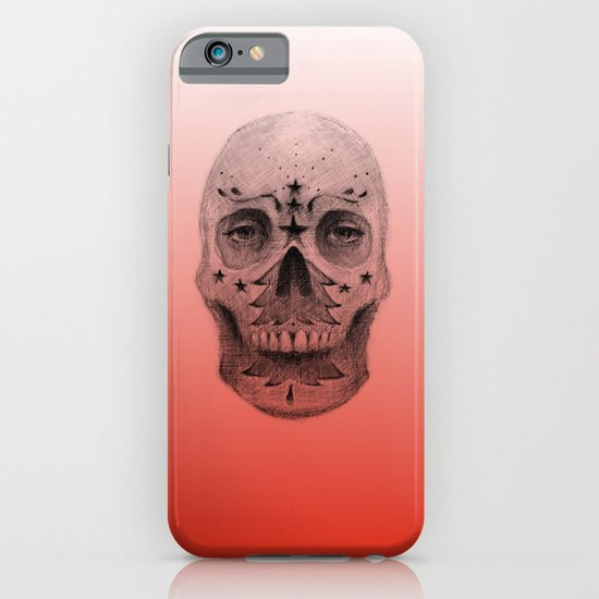 #34 - Christmas Tree Sugar Skull iPhone & iPod Case