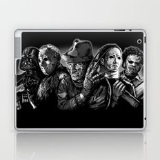 Freddy Krueger Jason Voorhees Michael Myers leatherface Darth Vader Blackest of the Black Laptop & iPad Skin