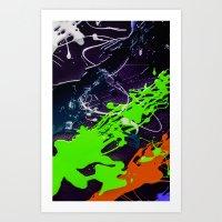 KOLORS 5 Art Print