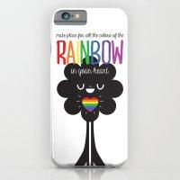 Rainbow Heart iPhone 6 Slim Case