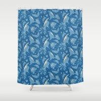Blue Dreams Shower Curtain
