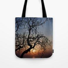 Sorrento Evening Sunset Tote Bag