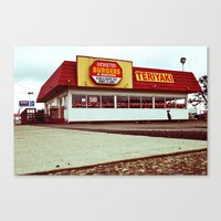 Canvas Print featuring Monster Burgers by Vorona Photography