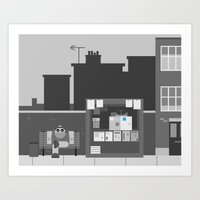 Another Grey Day Art Print