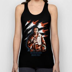 The Resistance Needs You Again! Unisex Tank Top