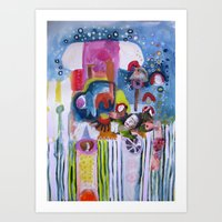 Bulgarian Wish 2  Art Print