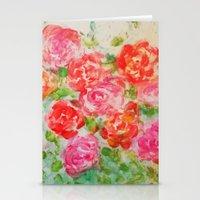 Forever Roses Stationery Cards