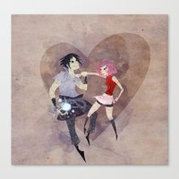 I hate to love you! Canvas Print