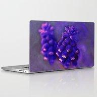 Muscari. Laptop & iPad Skin