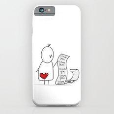 I Love You... A Lot. iPhone 6s Slim Case