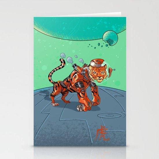 Astro Zodiac Force 03: Tiger Stationery Card
