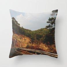 A Thousand Miles Throw Pillow