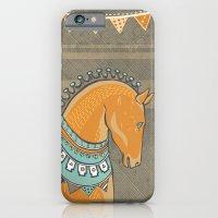 Horse Head - Chocolate iPhone 6 Slim Case