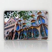 Casa Batllo: Barcelona, Spain Laptop & iPad Skin