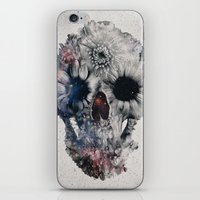 Floral Skull 2 iPhone & iPod Skin