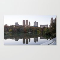 Central Park Fall Series… Canvas Print