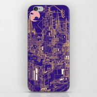 San Francisco! (Night) iPhone & iPod Skin