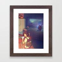 The Glass Boy Framed Art Print