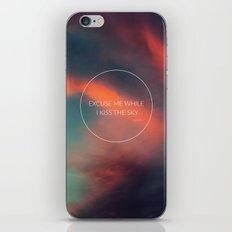 Kiss The Sky II iPhone & iPod Skin