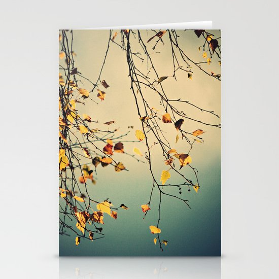 A poem from nature Stationery Card