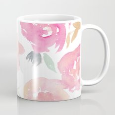 Muted Floral Watercolor … Mug