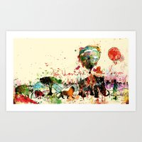 World As One : Human Kin… Art Print