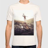 Heights Mens Fitted Tee Natural SMALL