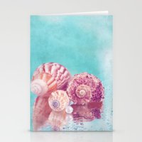 Seashell Group Stationery Cards