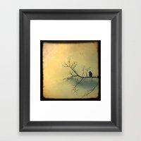 Solitude Mood Framed Art Print