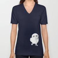 Sweet Little Owl Unisex V-Neck