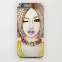 iPhone & iPod Case featuring Minzy Gong (2NE1) by Hileeery