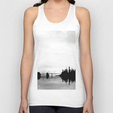 San Francisco Bay Bridge Unisex Tank Top