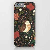 iPhone & iPod Case featuring Christmas Robin by Anna Deegan